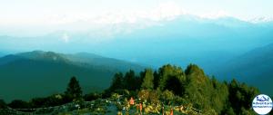 View from Ghorepani Poonhill Short trek - Adventure White Himalaya Treks