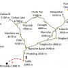 Map – Everest Base Camp via Chola Pass