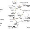 Map-Ghorepani-Ghandruk-Trekking