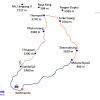 Map – Helambu Trekking