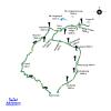 Map – Langtang Valley Trekking