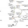 Map – Poonhill Short Trekking