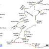 Map – Upper Mustang Trekking