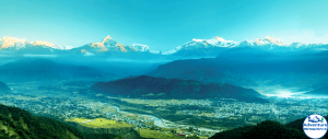 Pokhara view From Sarankot