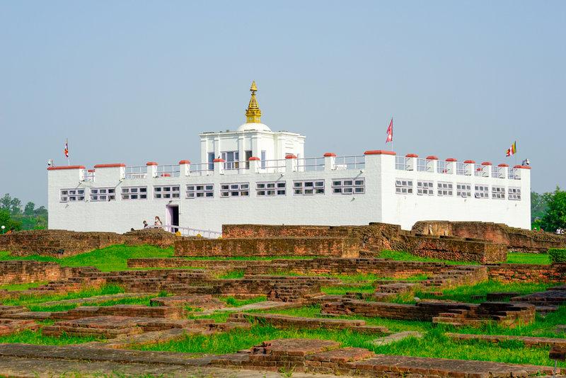 Lumbini: Maya Devi Temple